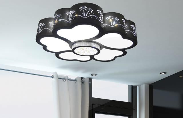 LEDシーリングライト DLKC013 調光調温 リモコン  (インテリア照明 間接照明 ペンダントライト 天井照明 北欧)