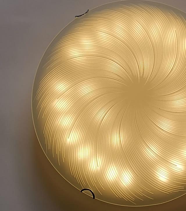 ガラスLEDシーリングライト FXKC003 調光調温 リモコン (間接照明 ペンダントライト インテリアライト 天井照明 北欧)