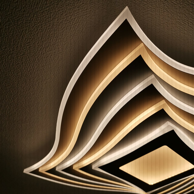 超薄型シーリングライト JKC197 LED (天井照明  インテリア照明 間接照明 ペンダントライト 北欧)