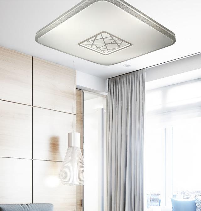 薄型LEDシーリングライト JMC002 (天井照明  インテリア照明 間接照明 ペンダントライト 北欧)