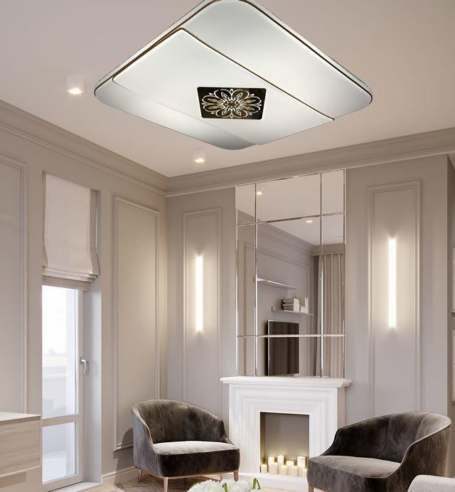 薄型LEDシーリングライト JMC003 (天井照明  インテリア照明 間接照明 ペンダントライト 北欧)