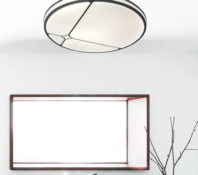 薄型LEDシーリングライト JMC008 (天井照明  インテリア照明 間接照明 ペンダントライト 北欧)