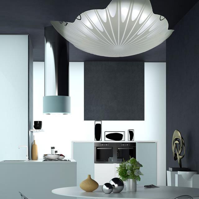 LEDガラスシーリングライト JNC003 調光調温 リモコン  (間接照明 ペンダントライト インテリアライト 天井照明 北欧)