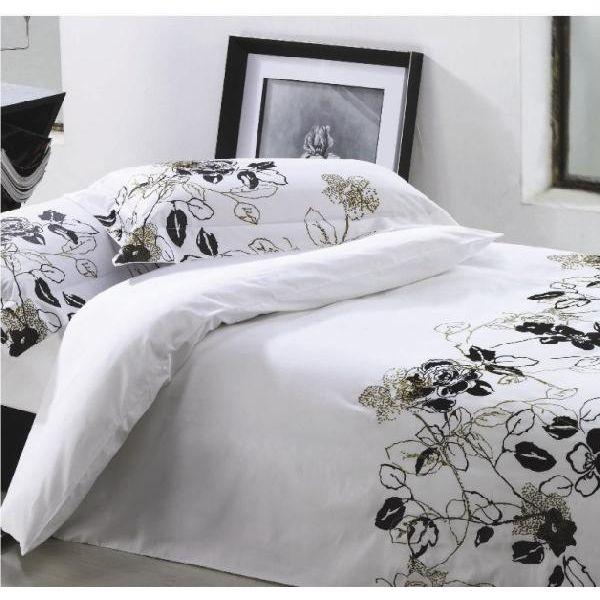 BKQ015ボックスシーツ/ダブル(ベッドリネン 寝具カバー 掛け布団カバー ピロケース 枕カバー 北欧 花柄)