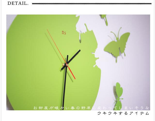 壁掛け時計 KCD008 (時計 壁掛け時計 壁時計 インテリア デザイン モダン 北欧)