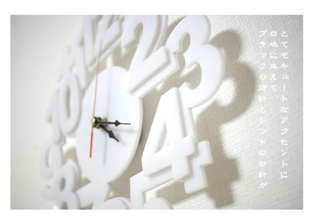 壁掛け時計 KFD095 (時計 壁掛け時計 壁時計 インテリア デザイン モダン 北欧)