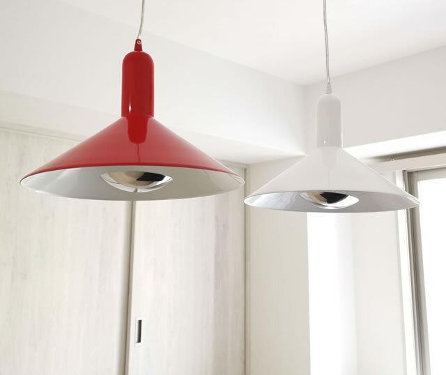 間接照明 ペンダントライト lzk001p-red (シーリングライト 天井照明 北欧 インテリア照明)
