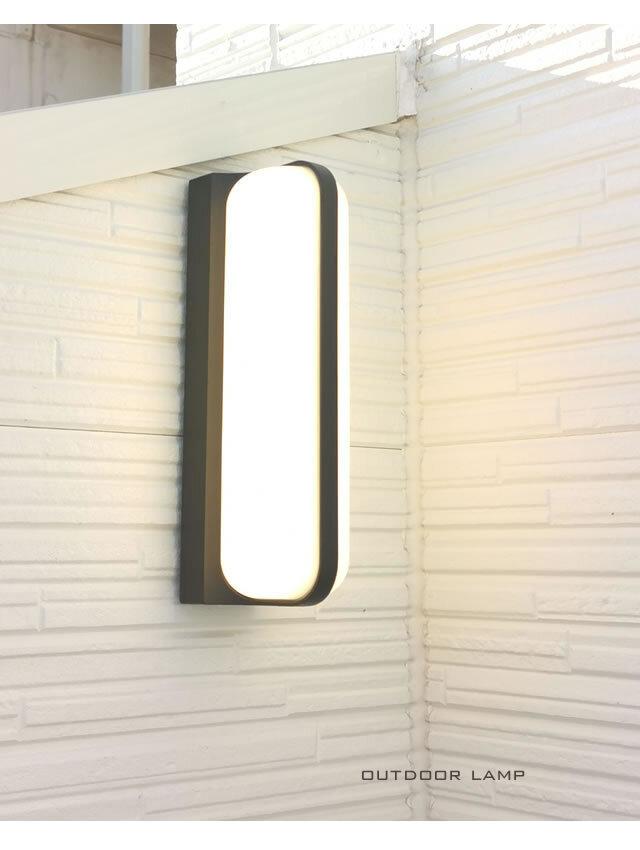 屋外照明 outdoor_round LED 明るい 防水 お洒落 高級