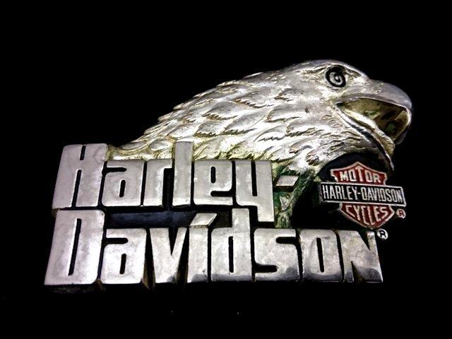 ヴィンテージバックル ハーレーダビッドソン HARLEY DAVIDSON  H-530