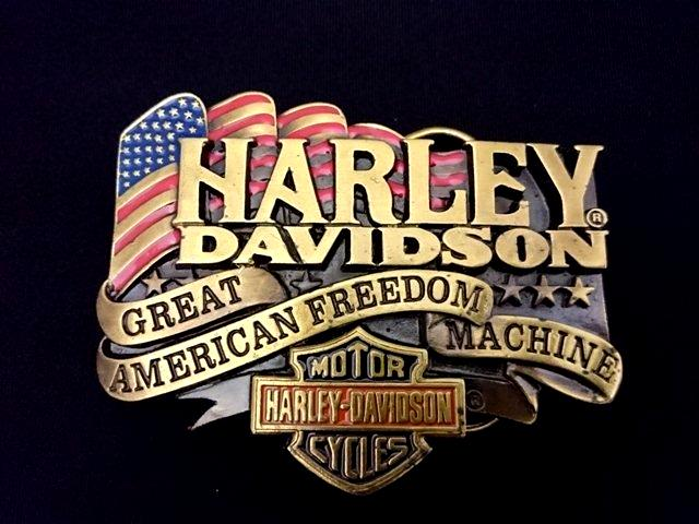 ヴィンテージバックル ハーレーダビッドソン HARLEY DAVIDSON  W-88