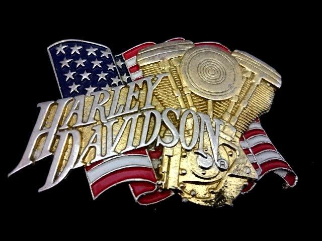 ヴィンテージバックル ハーレーダビッドソン HARLEY DAVIDSON  H-527