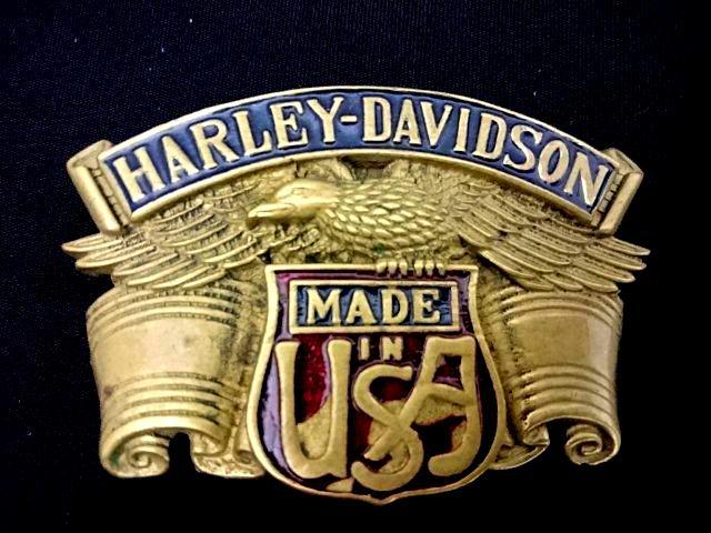 ヴィンテージバックル ハーレーダビッドソン HARLEY DAVIDSON  H503