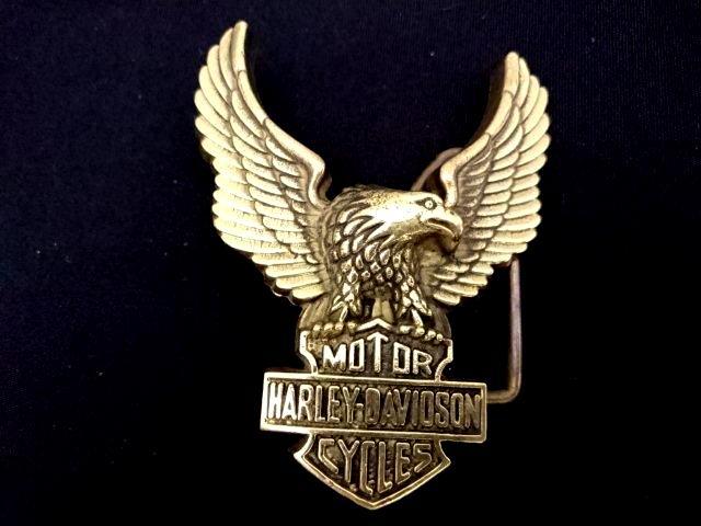 ヴィンテージバックル ハーレーダビッドソン HARLEY DAVIDSON  H502BB