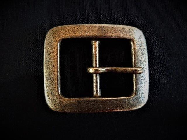 バックル 35mm ギャリソン真鍮アンティークブラスY297-35AB