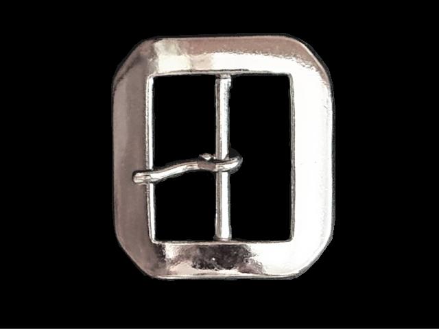 バックル 40mm ギャリソンバックル ニッケルシルバー Y314N-40