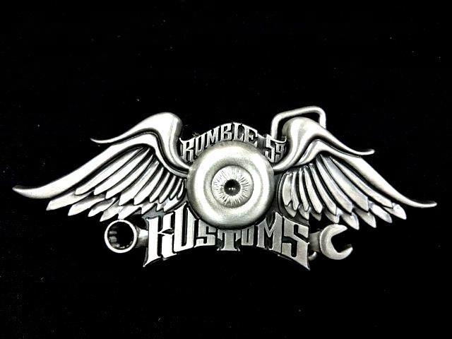 Buckle  RUM265  Flying Eyeball