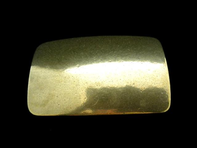 バックル 40mm 真鍮スクエアトップバックル  Y2001-40B
