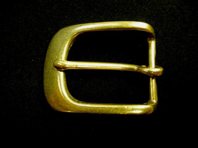 スタンダード真鍮バックル 30mm Y282-30B