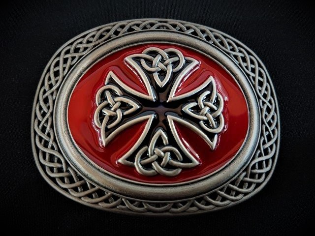 IVAN TROPHY BUCKLE Celtic Two-Tone