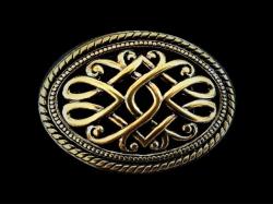 IVAN TROPHY BUCKLE  Victorian Brass