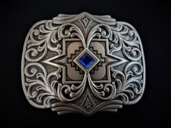 IVAN TROPHY BUCKLE Scroll & Diamond