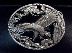 バックル ネイティブ SKA2D  Scroll Eagle (Diamond Cut)