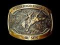 バックル MONTANA BUCKLE  A802DBC  Dale Brisby Saddle Bronc Trophy Buckle
