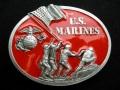 バックル BEL132E  U.S. MARINES