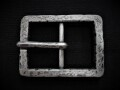 Old World Rectangle Center Bar Buckle