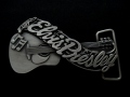 バックル  SKELB9  Elvis Presley's Name and Guitar Belt Buckle