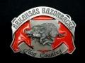 バックル SKK35E  Arkansas Razorbacks