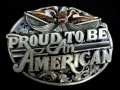 バックル SKT85E Proud to Be An American
