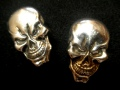 Tandy Leather SKULL CONCHO コンチョ 2個セット