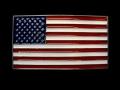 バックル TAN614  American Flag