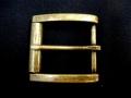 Tandy Leather Buckle DUNHAM ローラー付バックル 真鍮カラー 38mm