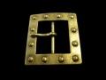 バックル 40mm ギャリソン  真鍮 TRNB140B-40