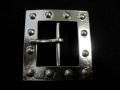 バックル 40mm ギャリソン  シルバー光沢 TRNB140NP-40/No,60