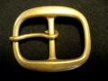 バックル 35mm ギャリソン 真鍮オーバル Y405B-35