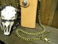 真鍮 ウォレットチェーン 喜平チェーン3.5mm