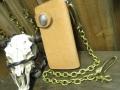 真鍮 ウォレットチェーン 小判チェーン3.5mm