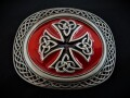 IVAN TROPHY BUCKLE Celtic Two-Tone