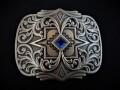 IVAN TROPHY BUCKLE Scroll & Diamond