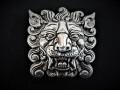 IVAN TROPHY BUCKLE Lion Head