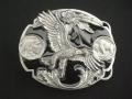 バックル ネイティブ  SKJ2D  Eagle (Diamond Cut)