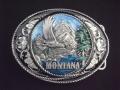 バックル ネイティブ  SKW5E  Montana with Western Scroll