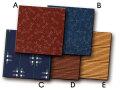 業務用座布団カバー撥水加工 十人色彩 コースター