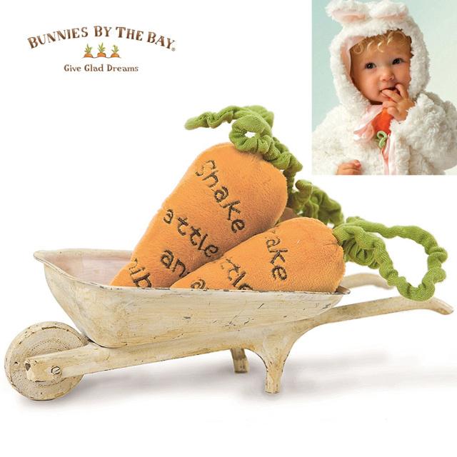 [ベビー]Bunnies By The Bay バニーズバイザベイ にんじんのガラガラ ベビーラトル