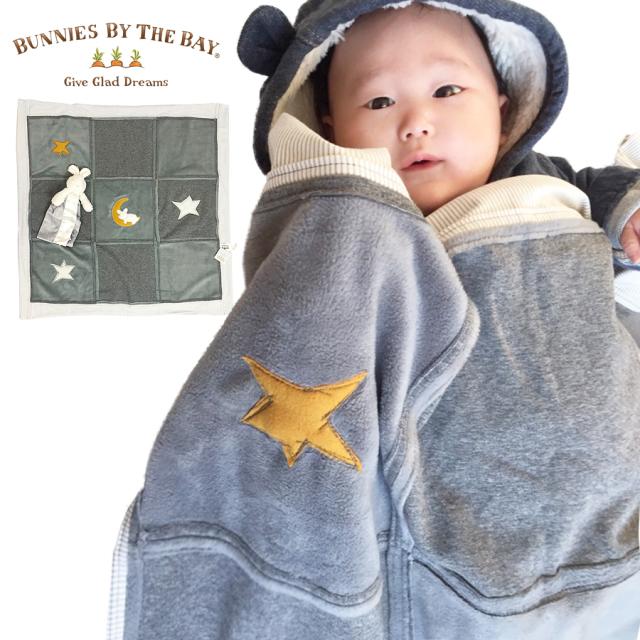 [ベビー・キッズ]Bunnies By The Bay バニーズバイザベイ【起毛フリースキルトブランケット】
