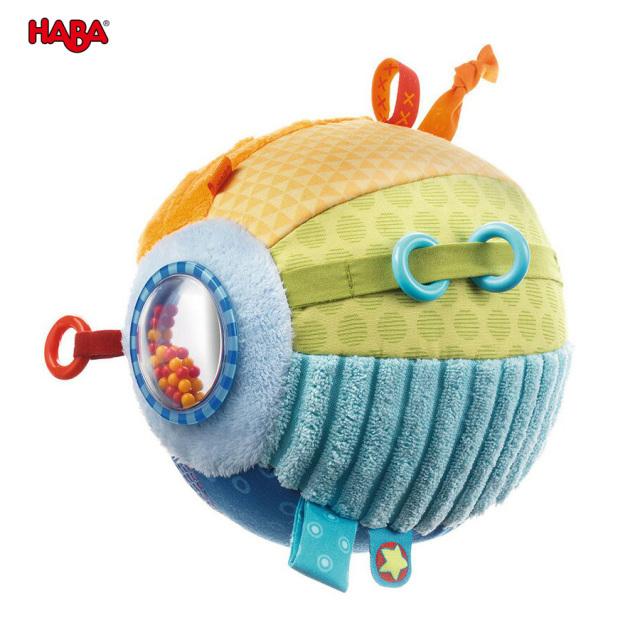 【TOYS】布のおもちゃ クロースボール・ディスカバリー/HABA(日本正規品)ベビー 0歳から遊べる 指先遊び 知育玩具