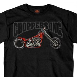 HDT-596-ST  オフィシャル半袖Tシャツ Official Chopper's Inc Hubless Chopper Double Sided T-Shirt